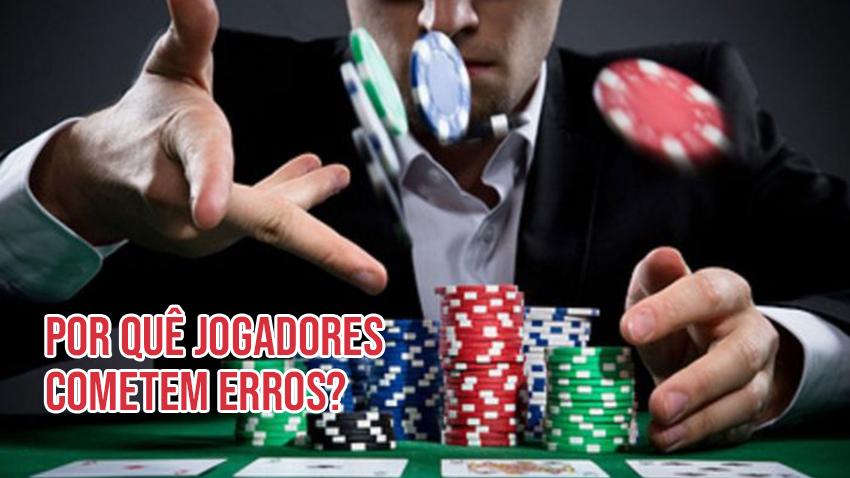 Jared Tendler - por quê os jogadores de poker tomam más decisões e cometem erros?